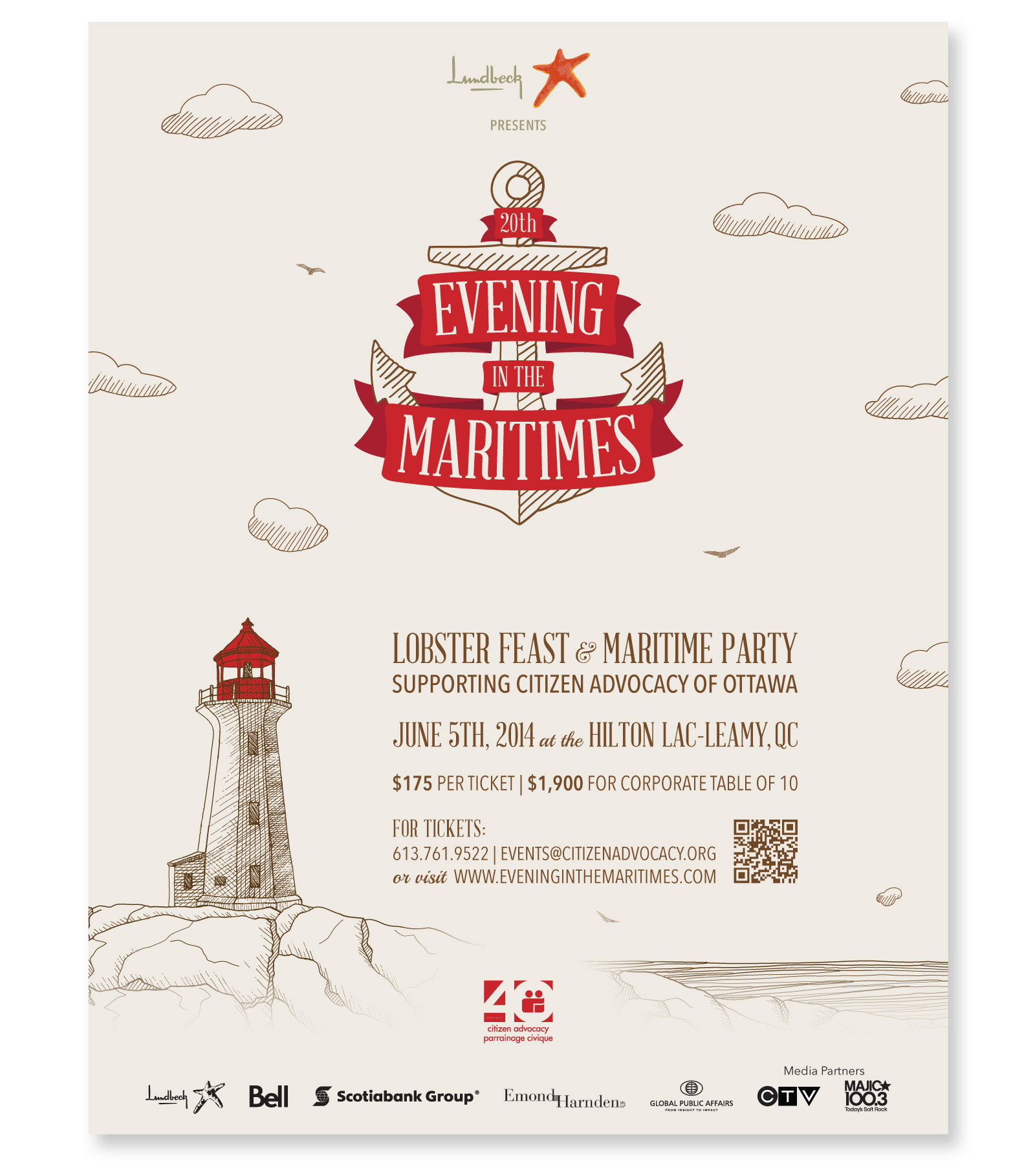 Evening in the Maritimes Poster