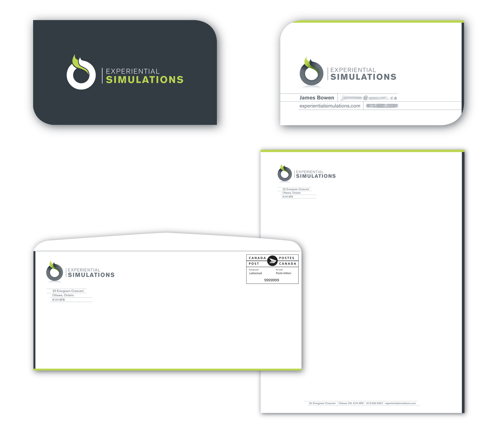 Experiential Simulations Stationery